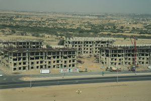 Construction work started in Tower 25 & 26 Bahria town karachi