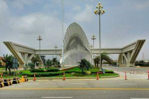 Main gate of Bahria Town Karachi Now Ready