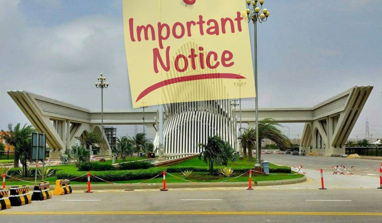 Important Notice as per Income Tax Ordinance 2001 (Section 111)