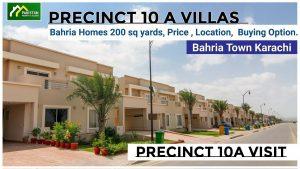 Precinct 10 A villa , 200 sq yards , 3 bedroom house