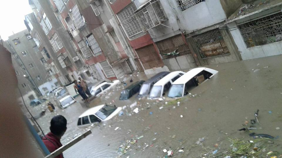 situation of Karachi city after rainfall