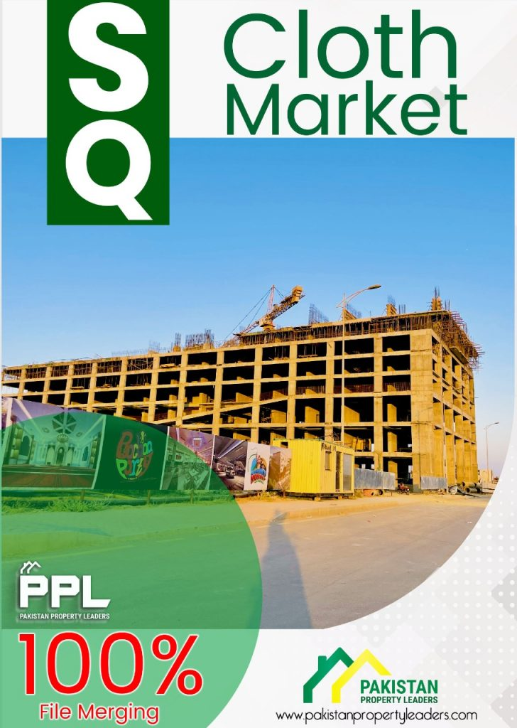 SQ Cloth Market in Bahria Town Karachi