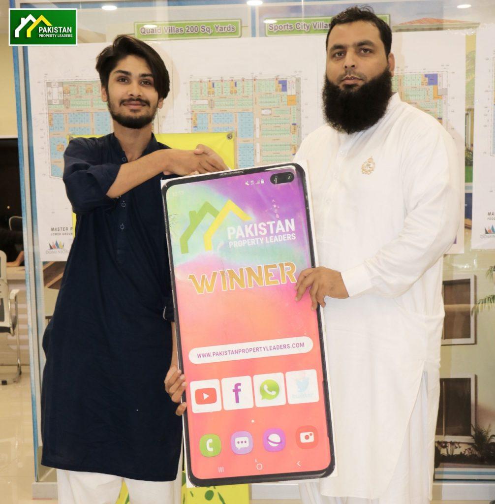 Adnan Mudassar CEO PPL – Awarding Mobile Gift
